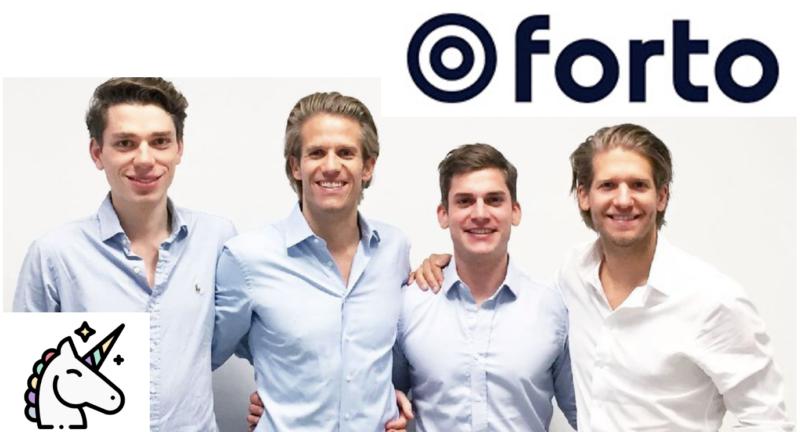 Forto Founders Erik Muttersbach, Ferry Heilemann, Michael Wax, Fabian Heilemann